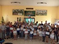 Entrega de Certificados Aluno Destaque 2013