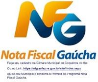 Programa Nota fiscal Gaúcha.
