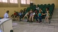 Vereador Recebe alunos para visita